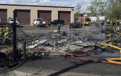 Caos por accidente aéreo en el que murieron dos personas en Nueva Jersey