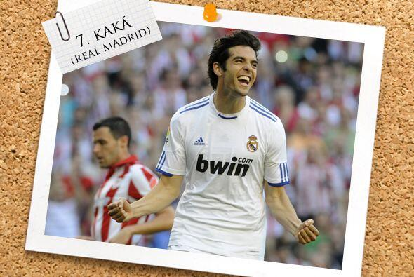 Por si lo extrañaban en nuestro Once, aquí está el brasileño Kaká.