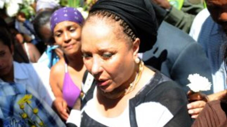 La ex congresista colombiana Piedad Córdoba.