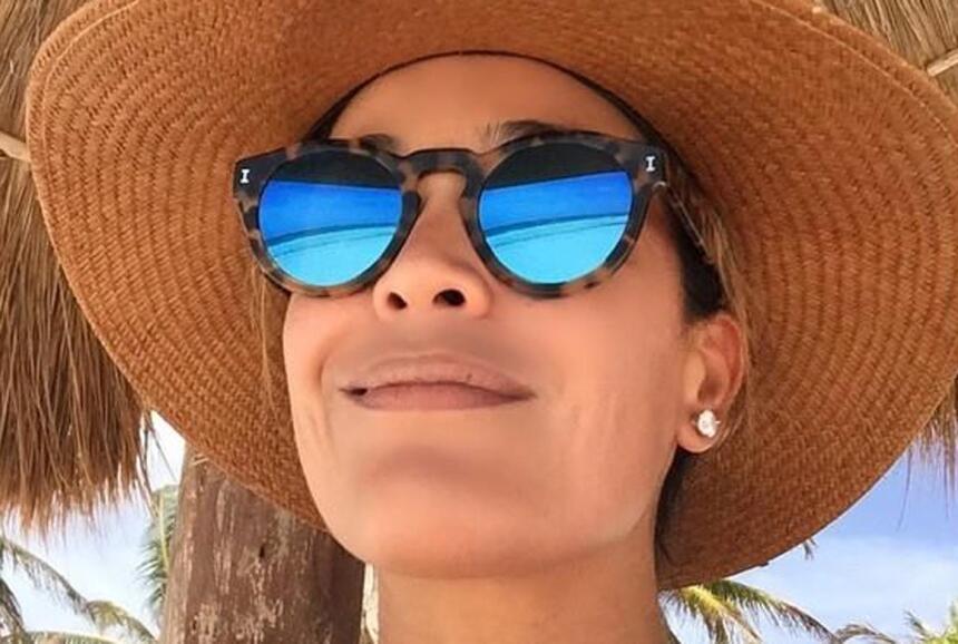 Karla Martínez en Tulum