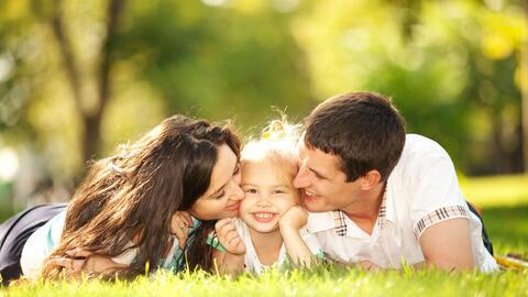 La convivencia y amor en familia.