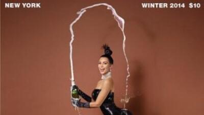 Kim Kardashian en un reportaje fotográfico para la revista neoyorkina 'P...