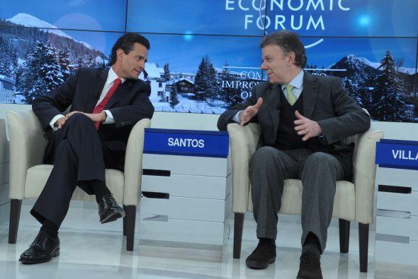 El Bastón de la Palabra le fue entregado a Peña Nieto por su homólogo co...