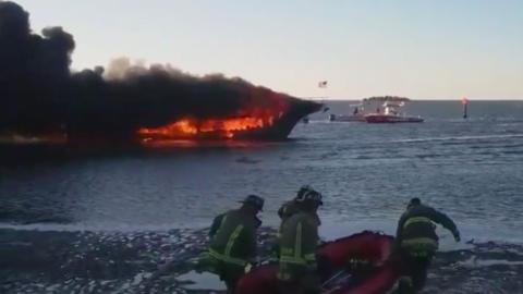 Al momento de los hechos viajaban en la nave cerca de 50 pasajeros. Algu...