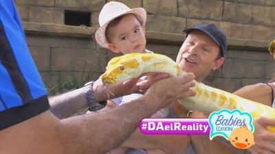 #DAelReality Babies Edition: Baby Michelle llevó al zoológico a sus papás