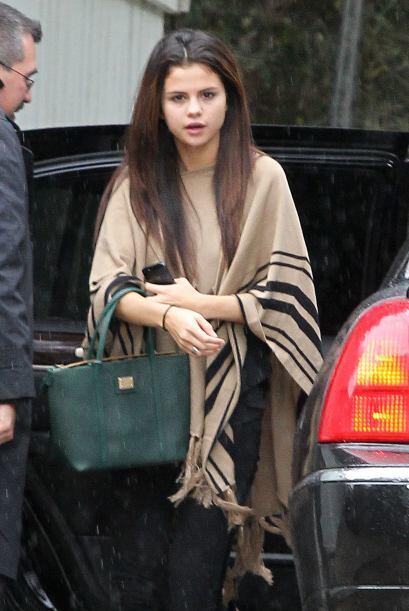 Cuando Selena Gomez no tiene tiempo para producirse un poco, este es el...