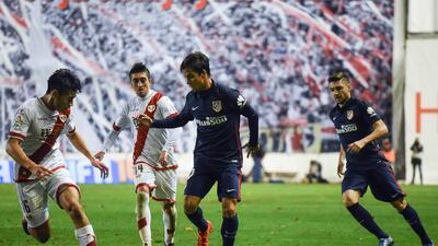 Rayo y Atlético empataron en la ida