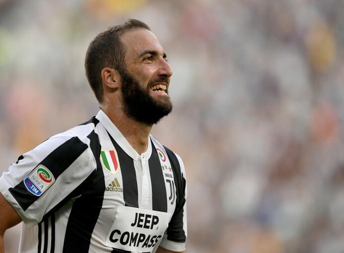 2. Gonzalo Higuaín (Juventus F.C.) - 7,5 millones de euros