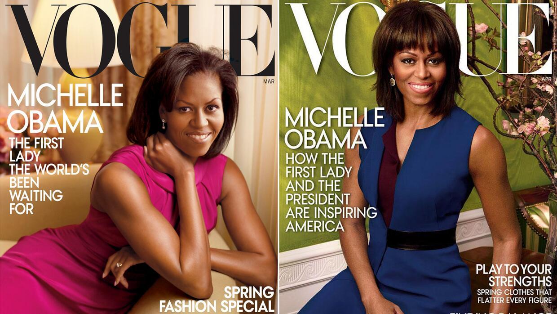 La primera portada salió en 2009 y la segunda tiene fecha de 2013. Ambas...