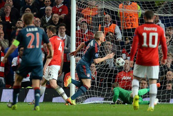 Pero esa ventaja no le duró al United más que ocho minutos.