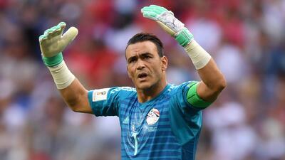 El Hadary se convierte en el futbolista más veterano en jugar un Mundial