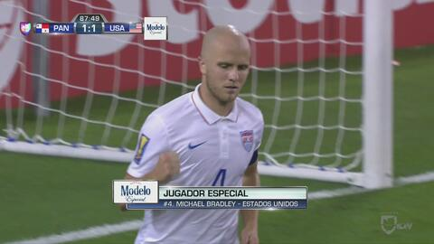 El Capitán Michael Bradley asegura con un gol el liderato de EEUU en el...