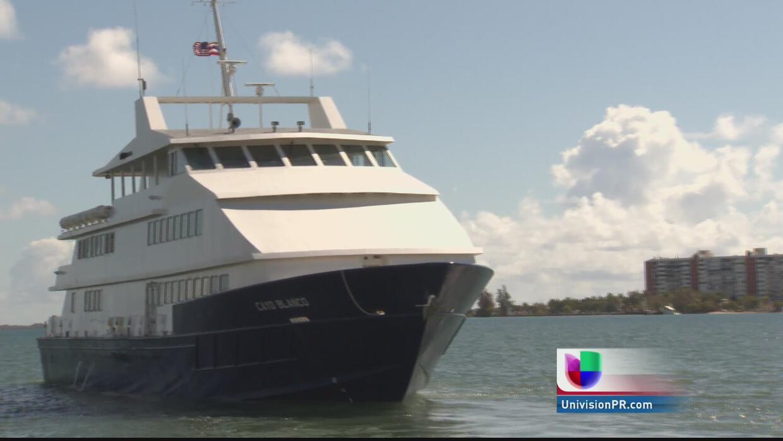 Lanchas desde fajardo hacia Vieques y Culebra