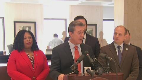 Legislatura ofrece conferencia de prensa para entregar detalles sobre la...