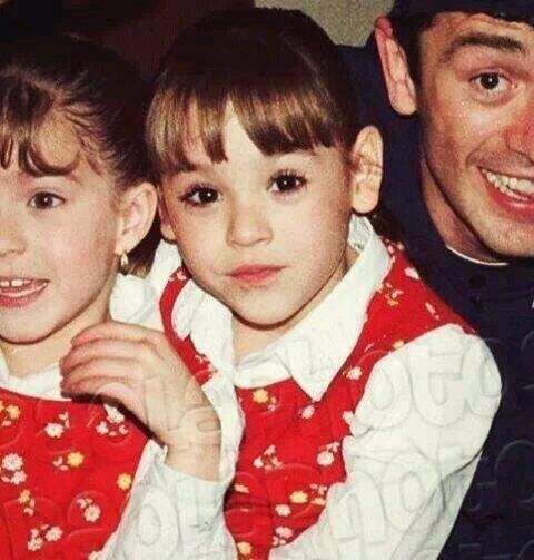 Pero ¿recuerdan cuando esta crecidita muchacha era una tierna niña?