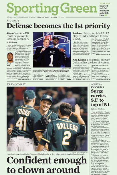 San Francisco Chronicle.