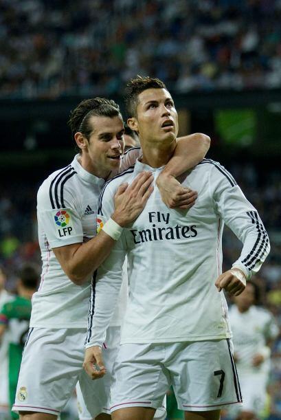 Mientras el Madrid siguió con el paso aplastante y liquidó...