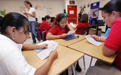 La canciller Fariña quiere mejorar la educación en las esc...