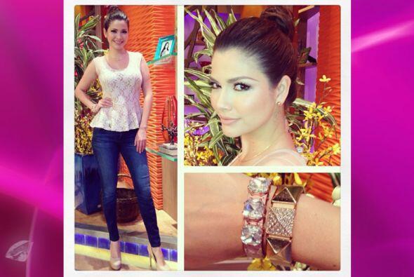 Ana Patricia repite sus zapatos y accesorios pero la clave es saber cómo...