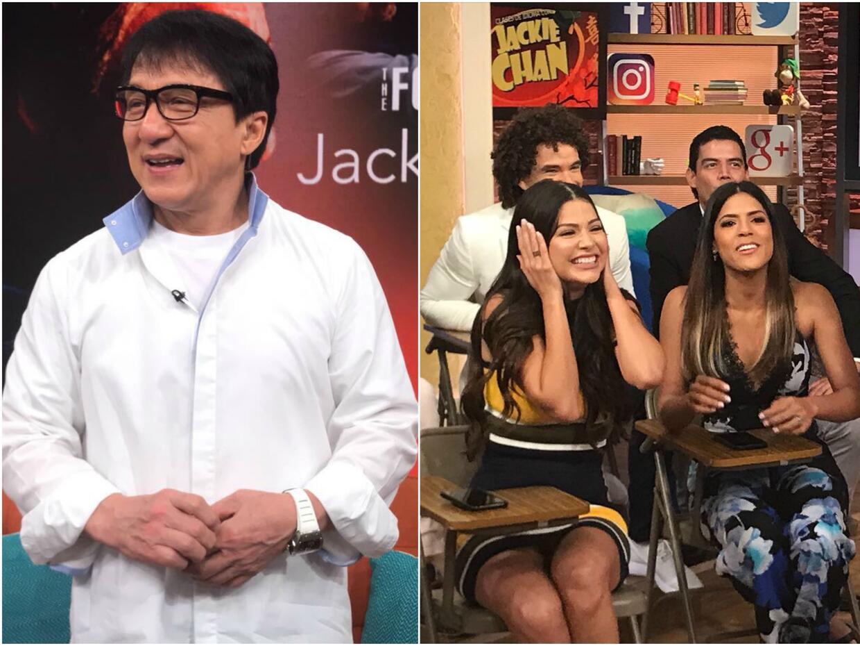 Jackie Chan en Despierta América