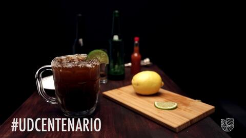 Michelada preparada #UDCentenario (video)