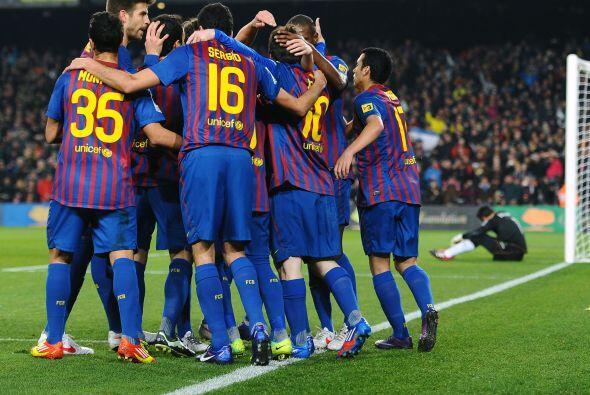 Messi conseguía su 'hat-trick'.