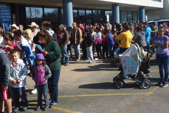 El evento fue en La Michoacana Meat Market el domingo 6 de enero.
