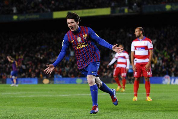 Messi puso el 2 a 0, merecido, y así llegó a la suma de 23...