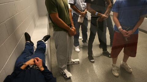 """""""Cualquier persona que no tiene documentos está en riesgo de ser deporta..."""