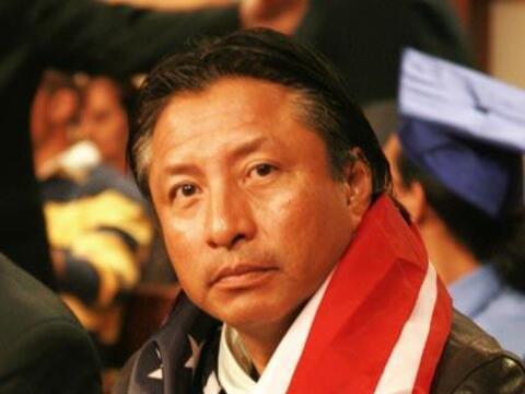 El guatemalteco Julio Girón está en contra del 'Dream Act'...