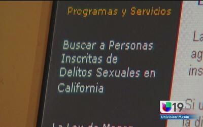 Agresores sexuales de California podrían ser borrados de la lista de ofe...