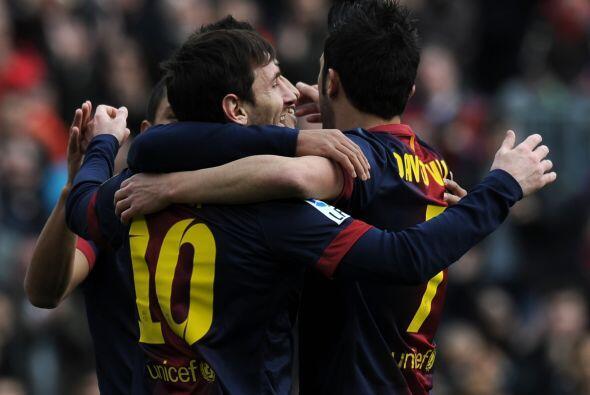 Lionel Messi no tardó el firmar el 2-0.