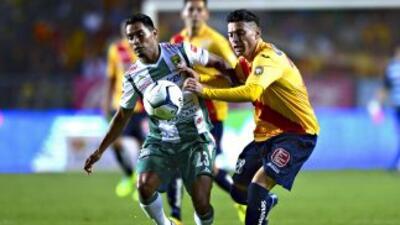 Morelia y León regalaron un juegazo en el partido de ida.