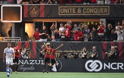 Nuevo festejo de Atlanta United