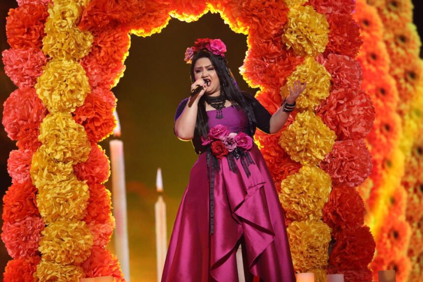 La ganadora de La Reina de la Canción.