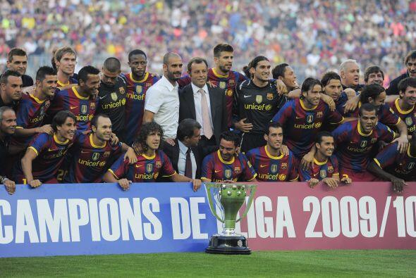Pasemos a España. Barcelona alcanzó el bicampeonato de La Liga en un tor...