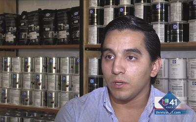Manuel Saidi, valiente emprendedor del café