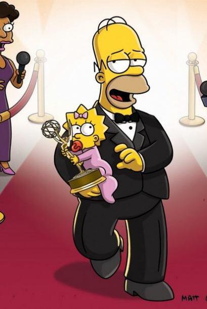 """""""Los Simpsons no fue nominada a los #Emmys2014, luego de haber ganado 28..."""