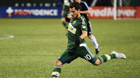 Golazo de argentino Valeri dio la ventaja a Portland, pero no fue sufici...