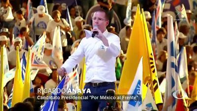 """""""Nuestra coalición es la única que le puede ganar a López Obrador"""": Ricardo Anaya"""