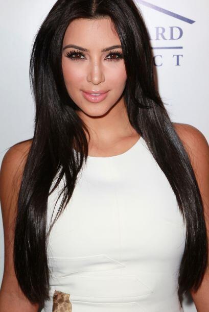El secreto para que Kim presuma una melena súper brillante y sedosa es n...