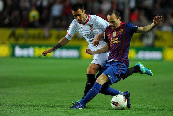 Sevilla recibió al Barcelona con un estadio lleno y muchas ganas de dar...
