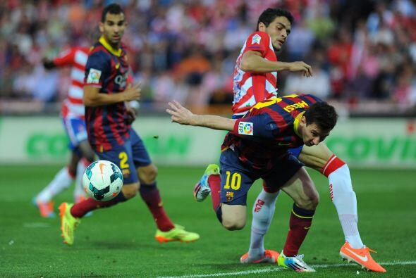 """Lionel Messi tuvo otro partido """"a medio gas"""", tras recientes actuaciones..."""