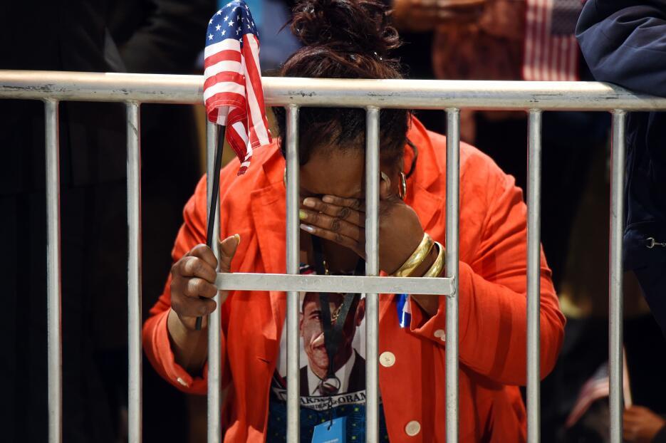 Martha Lunez cayó de rodillas al conocer que Hillary Clinton, por quien...