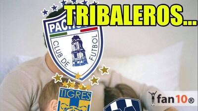 Los memes aplauden a Pachuca y acaban con Tigres