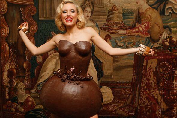 La modelo Alena Gerber fue la responsable de presentar en Munich la cole...
