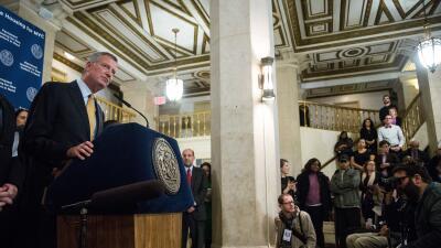 Bill de Blasio, alcalde de NY