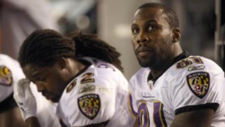 Anquan Boldin consideró que su ex equipo, los campeones Ravens, está per...