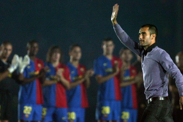 Y en las última dos décadas solo cinco técnicos debutantes con el Barcel...