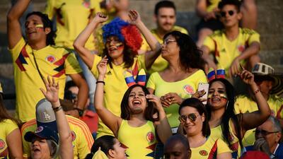 Colombia armó fiesta en las tribunas, pero no la ratificó en amistoso contra Egipto